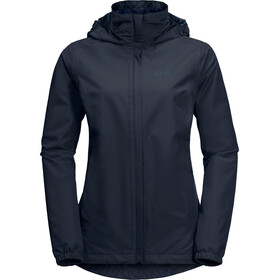 Jack Wolfskin Stormy Point Jacke Damen midnight blue